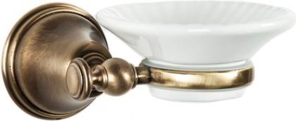 Мыльница настенная керамическая, бронза TW Harmony TWHA106br