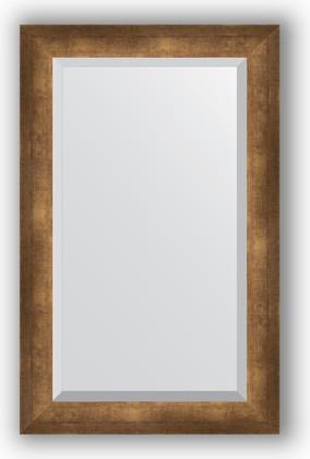 Зеркало 52x82см с фацетом 30мм в багетной раме старая бронза Evoform BY 1138
