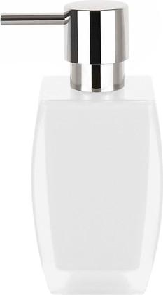 Ёмкость для жидкого мыла белая Spirella Freddo 1016089