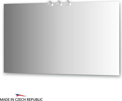 Зеркало 130x75см со светильниками Ellux CRY-D3 0216