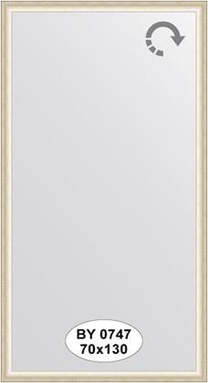 Зеркало 70x130см в багетной раме старое серебро Evoform BY 0747