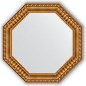 Зеркало Evoform Octagon 504x504 в багетной раме 61мм, золотой акведук BY 3715