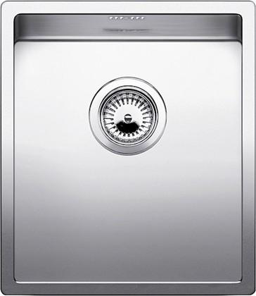 Кухонная мойка без крыла, нержавеющая сталь зеркальной полировки Blanco Claron 400-IF 517212