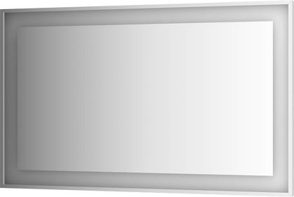 Зеркало 150x90 в багетной раме со встроенным LED-светильником Evoform BY 2213