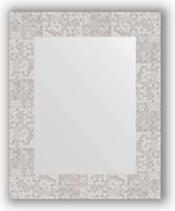 Зеркало в багетной раме 43x53см соты алюминий 70мм Evoform BY 3019