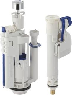 Комплект с впускным клапаном и смывным механизмом для бачка Geberit Impuls 283.311.KD.1