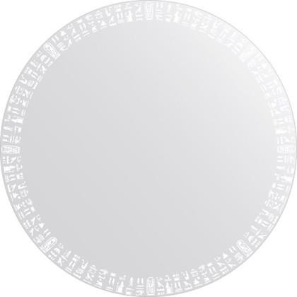 Зеркало для ванной с орнаментом диаметр 80см FBS CZ 0751