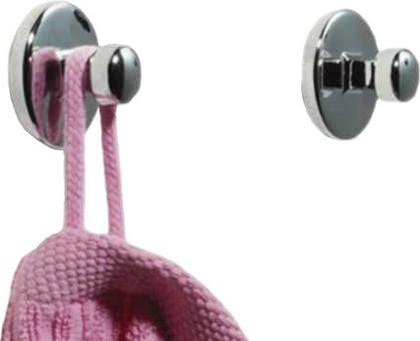 Набор декоративных самоклеющихся крючков, 2шт, хром Spirella Dot 1004632