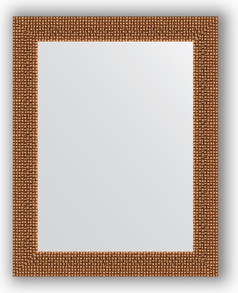 Зеркало в багетной раме 38x48см мозаика медь 46мм Evoform BY 3003