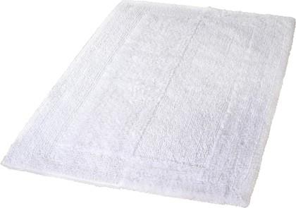 Коврик для ванной Kleine Wolke Havanna, 55x65см, хлопок, белый 5418 539 114