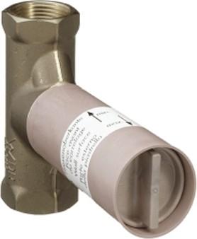 """Скрытая часть запорного вентиля 1/2"""", расход воды 40л/мин Hansgrohe 15974180"""