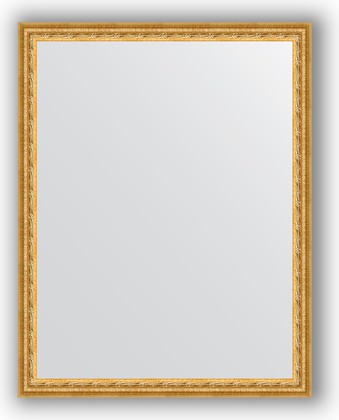 Зеркало 72x92см в багетной раме сусальное золото Evoform BY 1038
