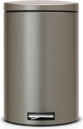 Мусорный бак 20л с педалью, MotionControl, платиновый Brabantia 478321