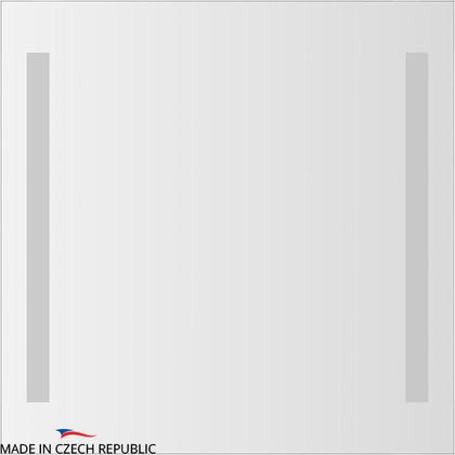 Зеркало 70х70см со встроенными светильниками Ellux STR-A2 9118