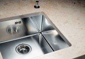 Кухонная мойка без крыла, нержавеющая сталь зеркальной полировки Blanco Claron 500-U 517217