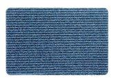 Коврик придверный 40х60см голубой Golze Rib Line Sprint 453-15-24