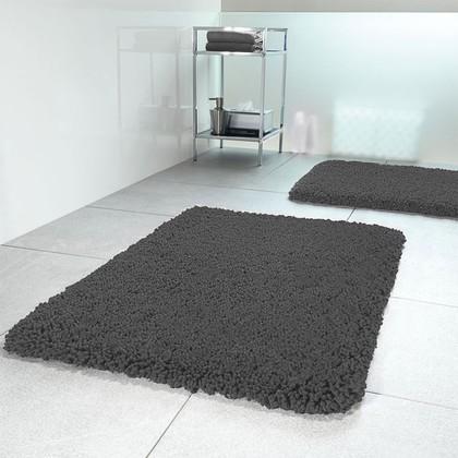 Коврик для ванной 60x90см серый Spirella HIGHLAND 1013085