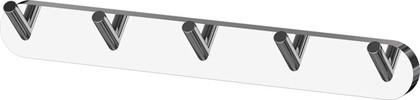 Планка с пятью крючками хром ArtWelle HAR 003