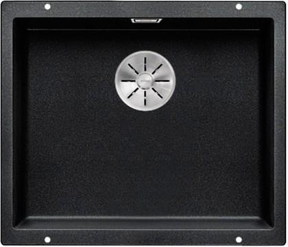 Кухонная мойка Blanco Subline 500-U, без крыла, отводная арматура, гранит, антрацит 523432