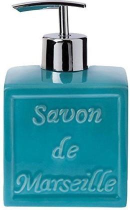 Ёмкость для жидкого мыла, голубой Spirella Savon De Marseille 4007265
