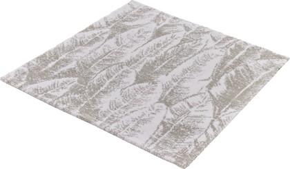 Коврик для ванной Kleine Wolke Feather, 60x60см, хлопок, серебристо-серый 9101146135