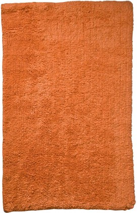Коврик для ванной комнаты хлопковый 50x70см оранжевый Spirella Campus 4006060