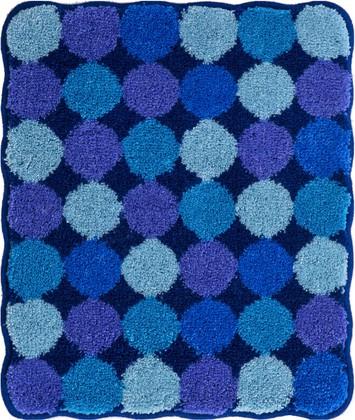 Коврик для ванной 50x60см синий Grund Agarti 3618.60.185
