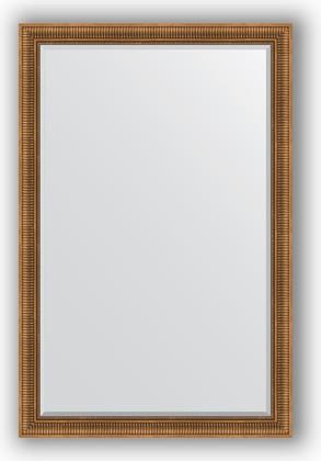 Зеркало с фацетом в багетной раме 117x177см бронзовый акведук 93мм Evoform BY 3622