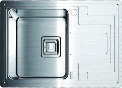 Кухонная мойка крыло справа, нержавеющая сталь матовой полировки Omoikiri Mizu 78-1-L 4993011