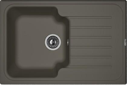 Кухонная мойка Florentina Таис, 760x510мм, антрацит 20.260.B0760.302