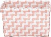 Корзина для хранения Kleine Wolke Box Double 20х12х16.5см, белый, розовый 5880443060