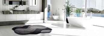 Коврик для ванной Grund Carmen, 60x100см, полиакрил, серый b2048-164115