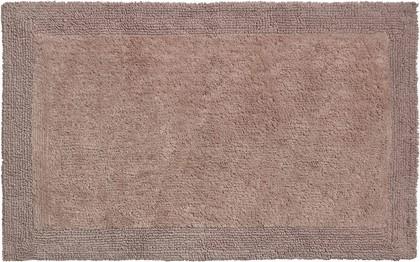 Коврик для ванной Grund Luxor, 70x120см, хлопок, двухсторонний, коричневый b2625-023207306
