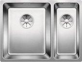Кухонная мойка Blanco Andano 340/180-U, чаша слева, отводная арматура, полированная сталь 522979