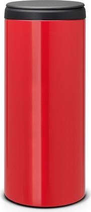 Мусорный бак 30л, пламенно-красный Brabantia FlipBin 106903
