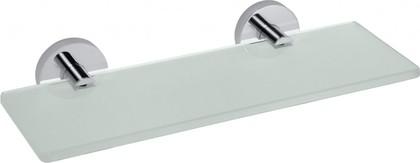 Полка для ванной Bemeta Omega 300мм, стекло, хром 104122042