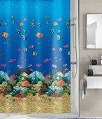Штора для ванной Kleine Wolke Malediven Multicolor, 180x200см, Peva 5202148305