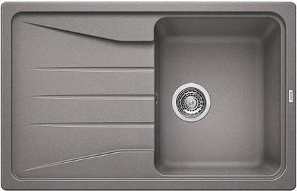 Кухонная мойка оборачиваемая с крылом, гранит, алюметаллик Blanco SONA 45 S 519664