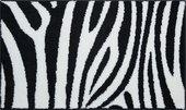 Коврик для ванной комнаты Grund Zebra, 60x100см, полиакрил, черно-белый 2761.16.014