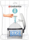 Мешки для мусора Brabantia 30л, размер O, 40шт 124846