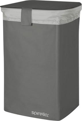 Корзина для белья 50л чёрная Spirella CLASSIC-L 1017860