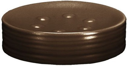 Мыльница керамическая коричневая Kleine Wolke Sahara 5046301853