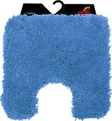 Коврик для туалета Spirella Highland, 55x55см, полиэстер/микрофибра, голубой 1013079