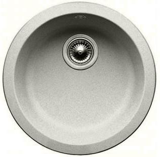 Кухонная мойка без крыла, гранит, жемчужный Blanco Rondo 520601