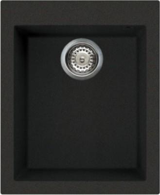 Кухонная мойка без крыла, гранит, чёрный Omoikiri Bosen 41-BL 4993141
