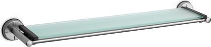 Полочка стеклянная 63см с держателями из матовой стали Brabantia 427466