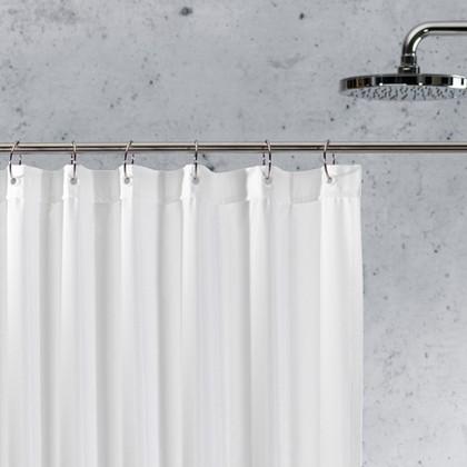 Карниз для ванной шторы 125-220см, хром Spirella Slim 1014709