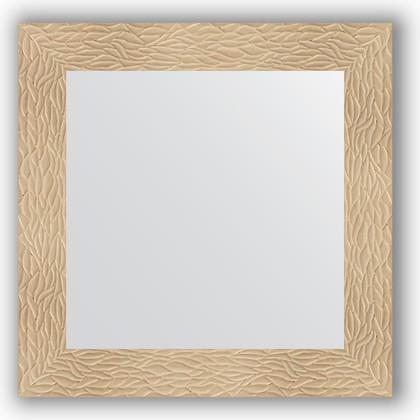 Зеркало в багетной раме 70x70см золотые дюны 90мм Evoform BY 3149