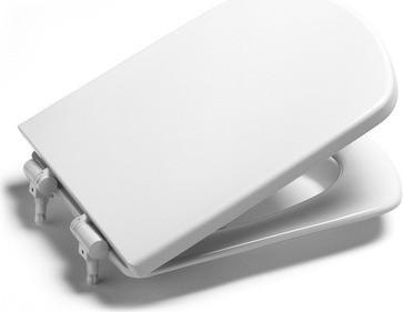 Сиденье для унитаза с крышкой, микролифт, белое Roca Dama Senso ZRU9302820