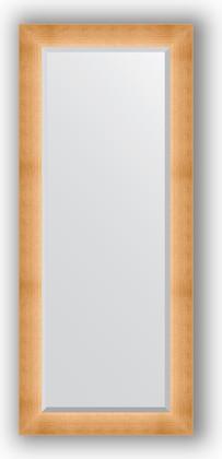 Зеркало 66x156см с фацетом 30мм в багетной раме травлёное золото Evoform BY 1191